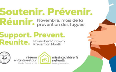 November is Runaway Prevention Month