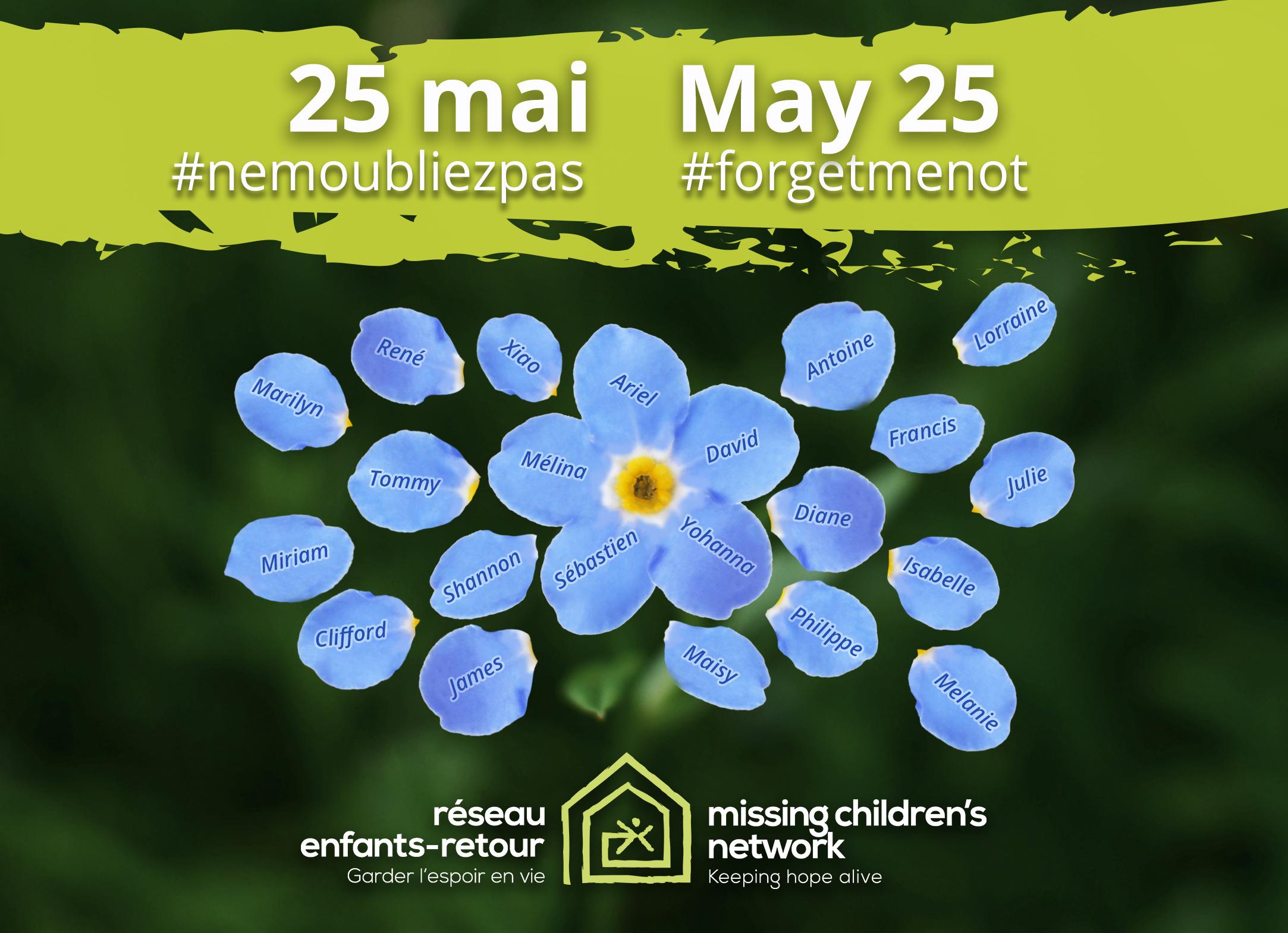Journée nationale des enfants disparues